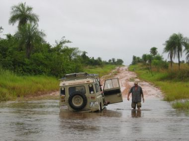 Off Road in Paraguay