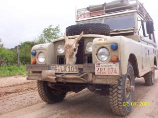 Land Rover in Aktion